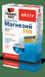 Допелхерц Актив Магнезий Депо таблетки 500мг x30 (Doppelherz Magnesium 500)